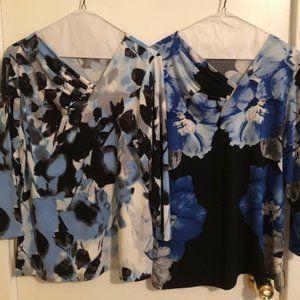 Set of two Calvin Klein ladies' tops